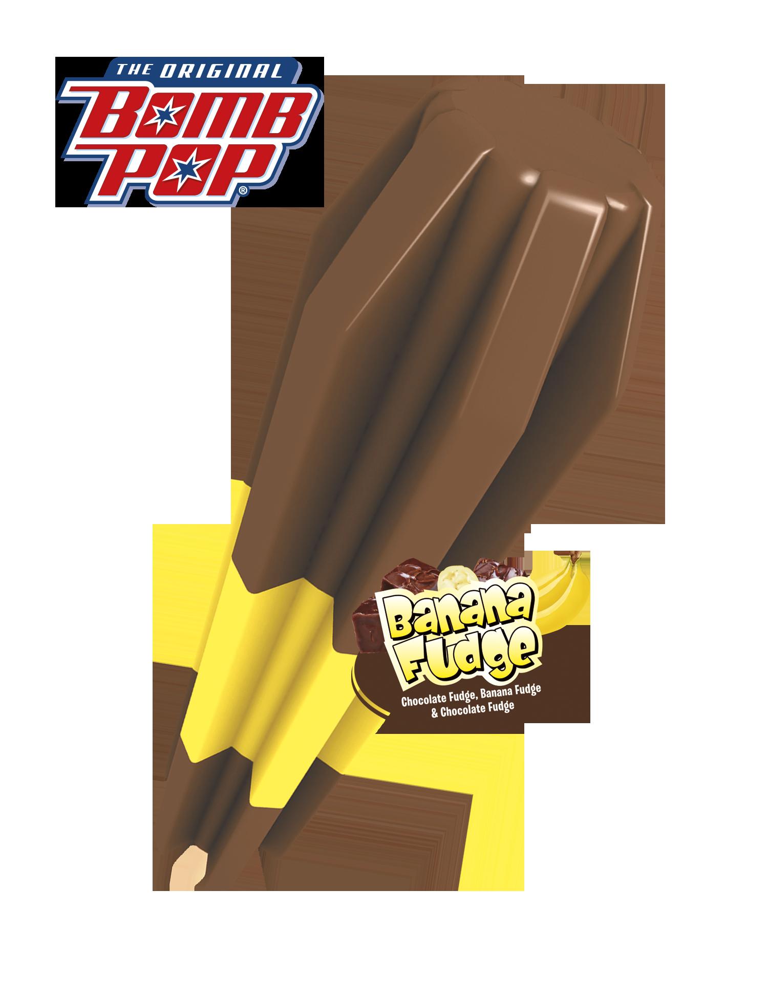 Chocolate Banana Ice Cream Pop