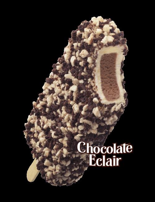 Chocolate Eclair Ice Cream Cake