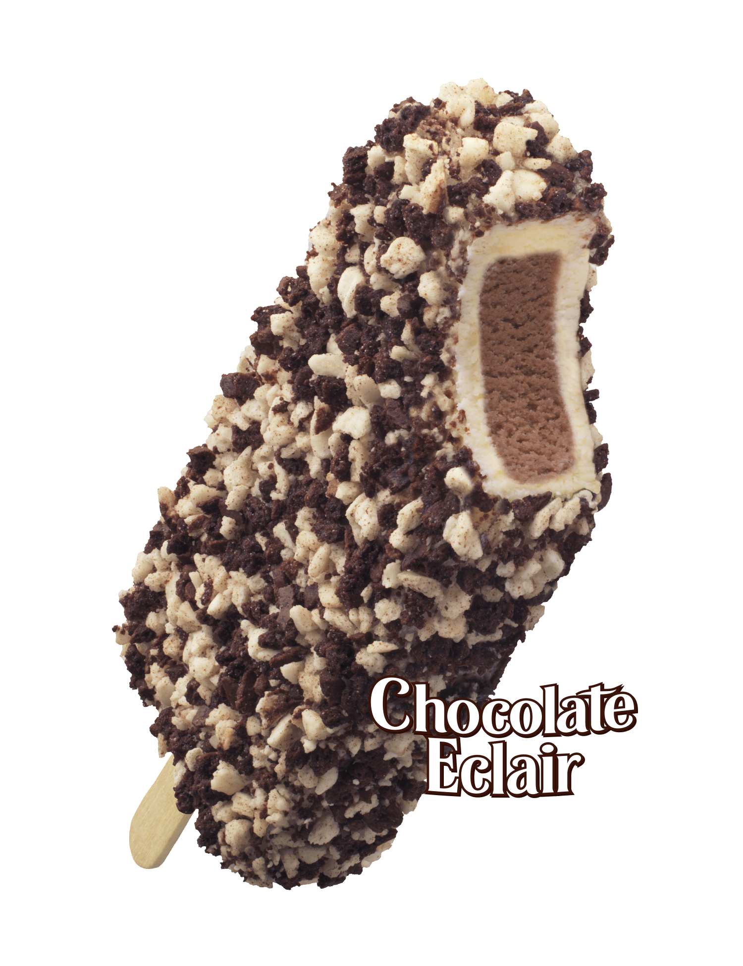 What Is On A Chocolate Eclair Ice Cream Bar